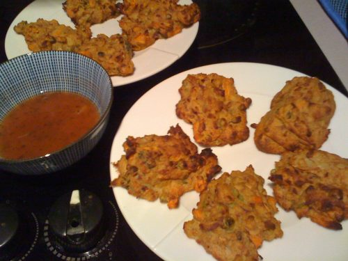 Slimming World pakoras