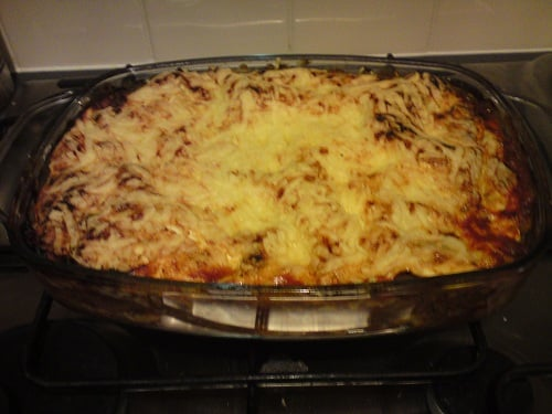 Syn free lasagne on EE (using hex A)