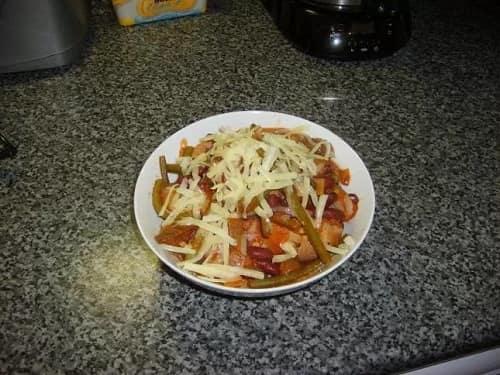 Simple Vegetable Chilli