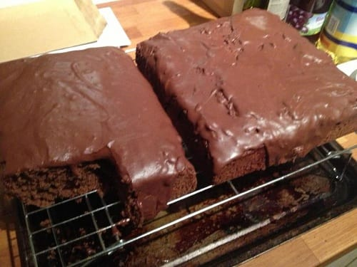 Rich Chocolate Tray Bake 16 Syns For The Lot