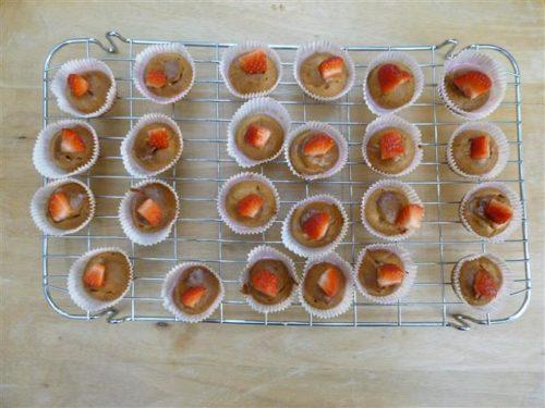 1 Bite strawberry cupcakes – Slimming world