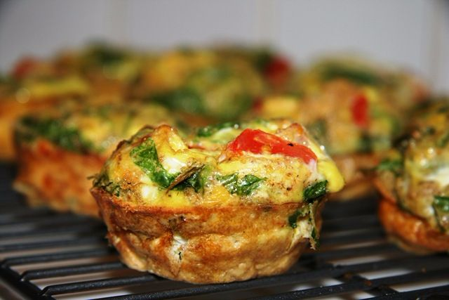 Breakfast Egg Muffins Slimming World Friendly