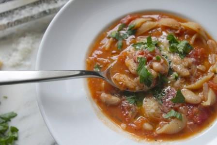 Pasta fagioli (slimming world friendly)