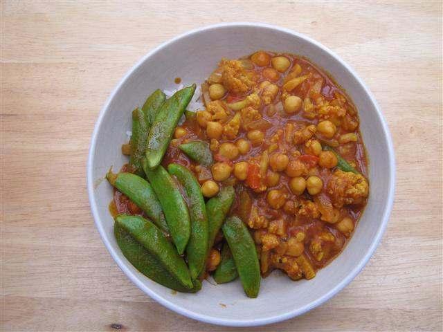 Gobi Chana (V) Curry