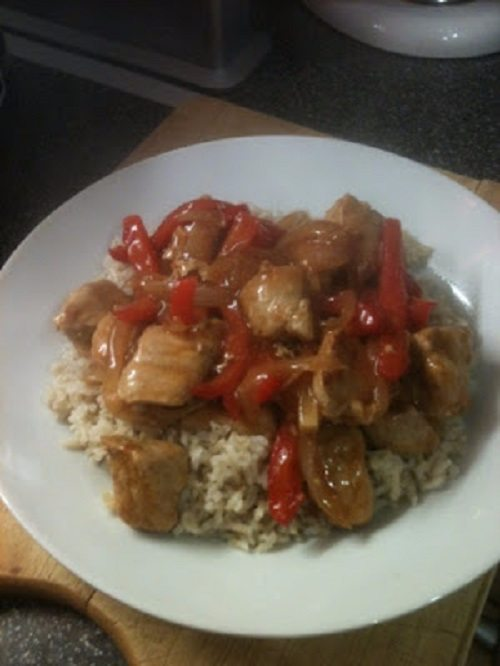 Sweet & sour pork (slimming world friendly)