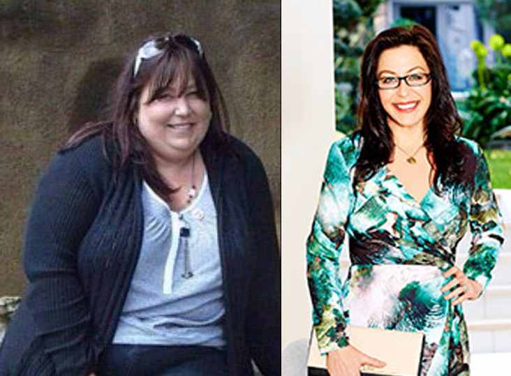Fangirl loses 10 stones after seeing her disappointing figure at the photograph taken together with her idol