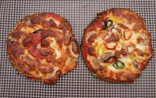 SW Mong/Moong Bean Pizza