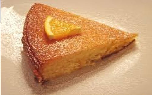 Orange cake (claiming to be Spanish)