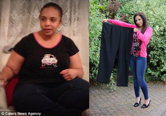 Exhausted Mum no more. This woman can now match the energy of her child after losing over 7st with Slimming World