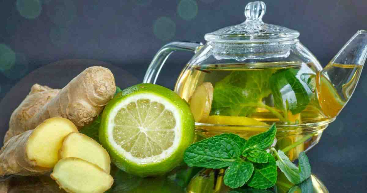 Flat tummy water recipe and the health benefits of each ingredients