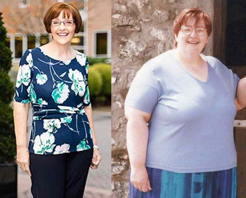 Glamourous grand ma turned things around by dropping an amazing 13 stones
