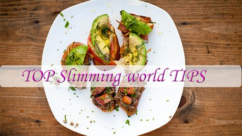 Top effective tips from experts and successful dieters of Slimming World