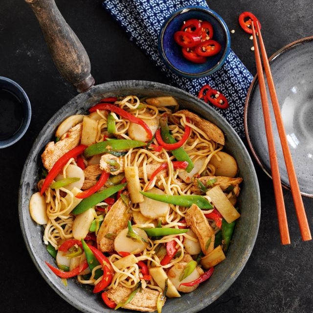 Delicious SW Chicken Chow Mein