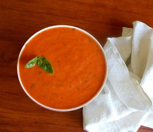Roast Pepper Soup