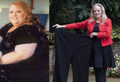 After being told that she might not see her 30th birthday, this woman lost a jaw-dropping 20 stones w/ Slimming World.