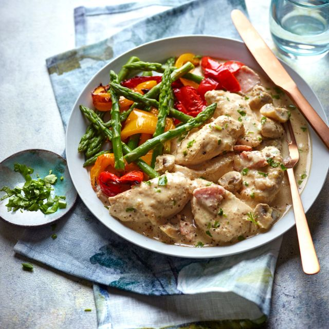 Slimming World recipe: Chicken supreme