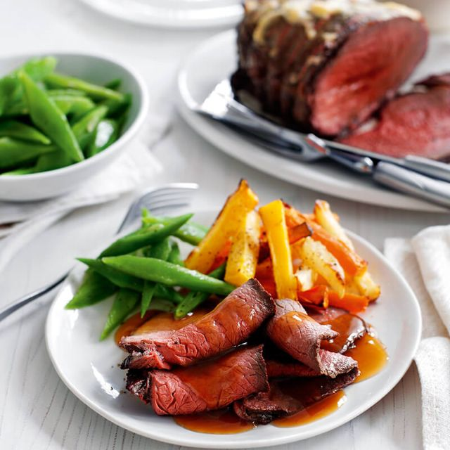 Slimming world recipe: Roast beef with horseradish