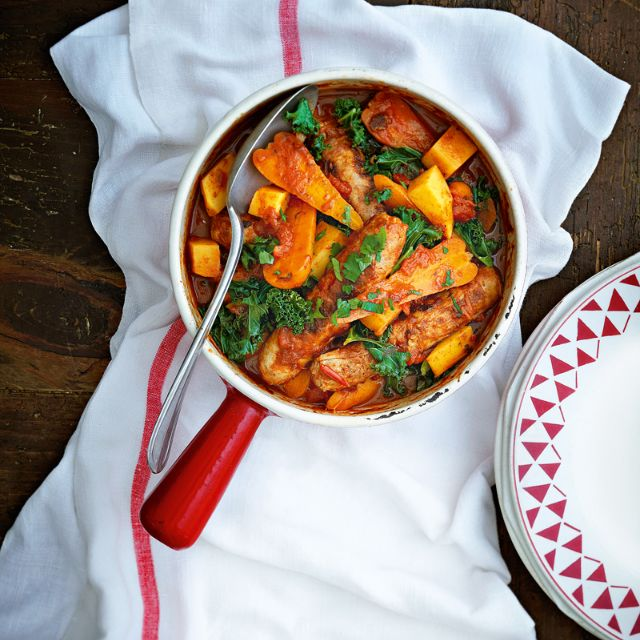 Slimming world recipe: Sausage casserole