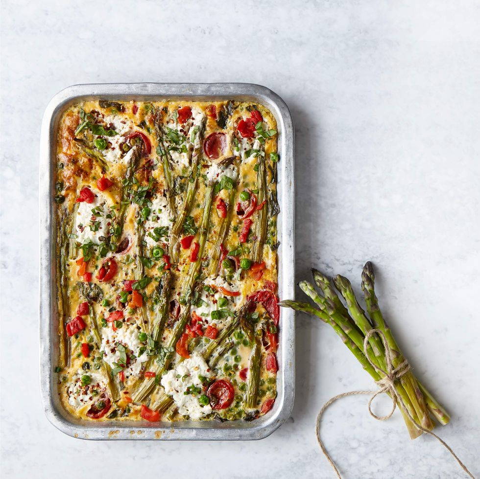 Slimming World's Asparagus frittata
