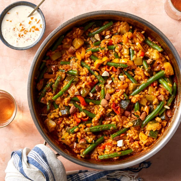 Slimming World Syn-free: Vegetable paella recipe