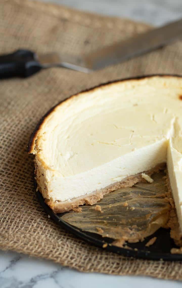 Slimming world recipe: Baked Cheesecake (New York style)