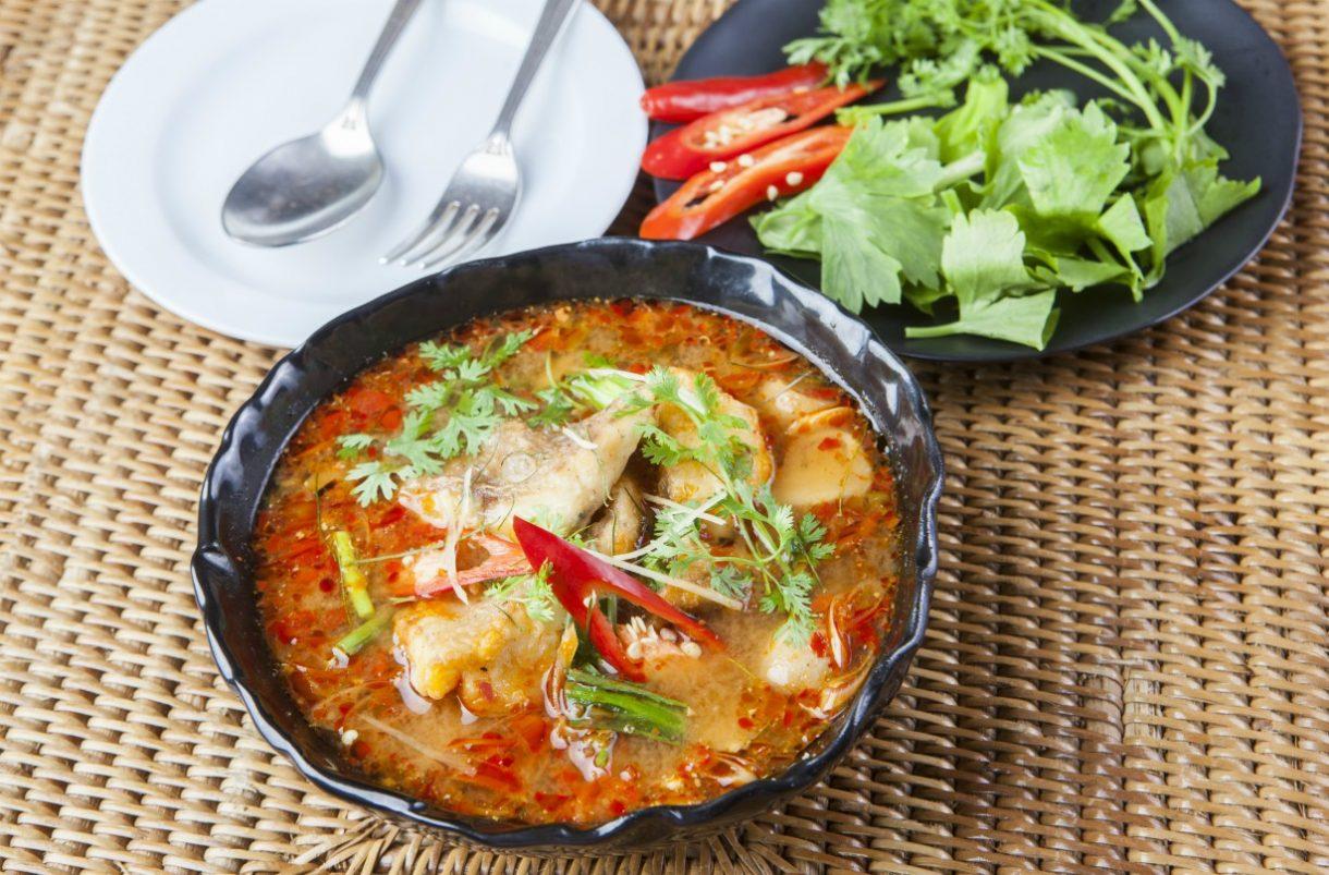 SW recipe: Thai Red Fish Curry