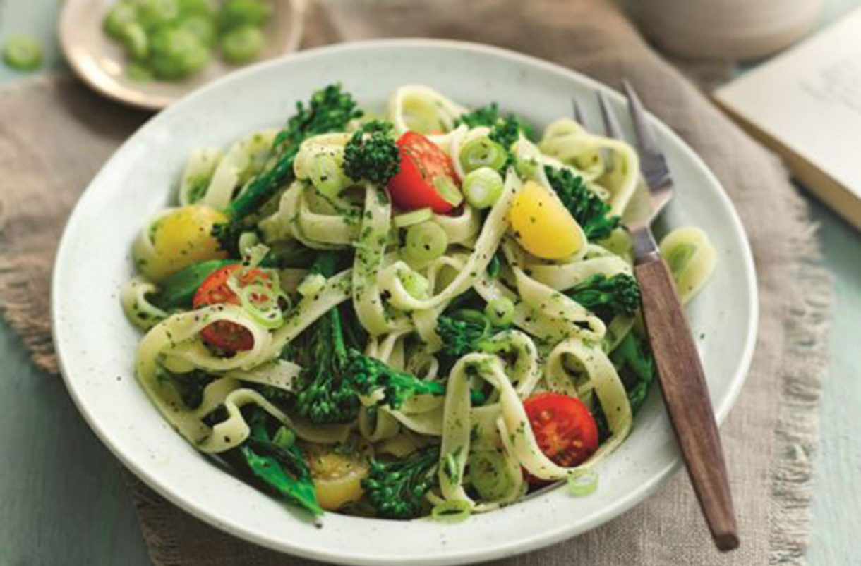 SW recipe: fettuccine with tenderstem broccoli