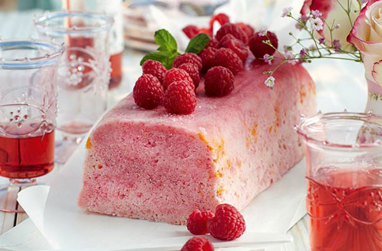 SW recipe: Iced Raspberry and Orange Parfait