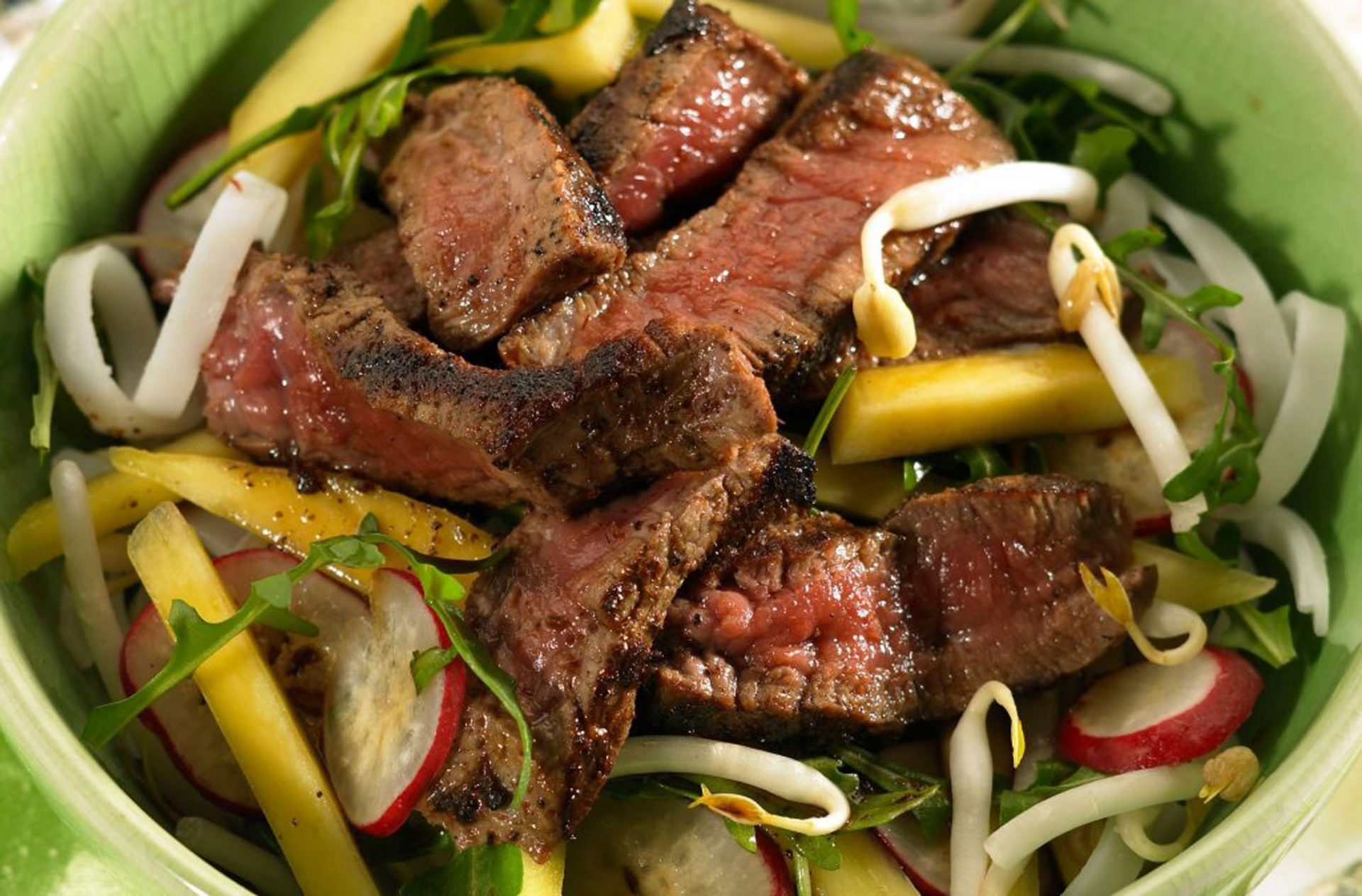 Slimming World recipe: Spiced Thai beef salad with Wild rice