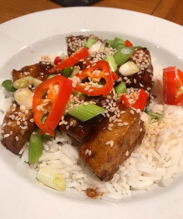 SW recipe: Teriyaki tofu