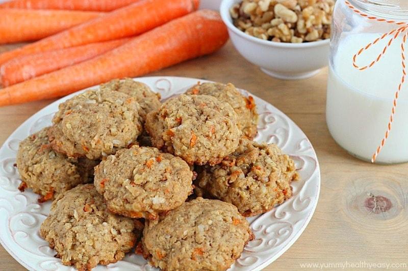 SW recipe: Carrot and orange oat cookies