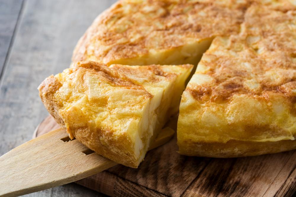 SW recipe: spanish tortilla