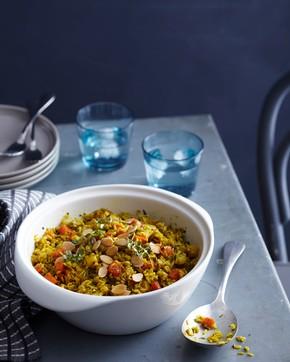 SW recipe: Vegetable Korma Pilaf