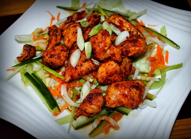 SW recipe: THAI SWEET CHILLI CHICKEN SALAD