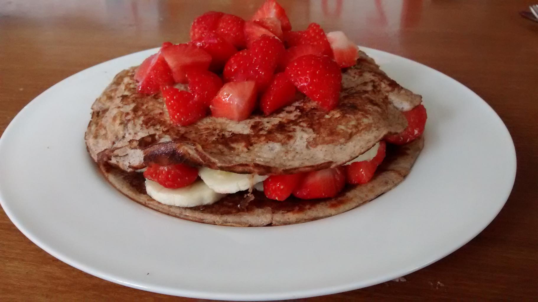 SW recipe: Cinnamon Pancakes