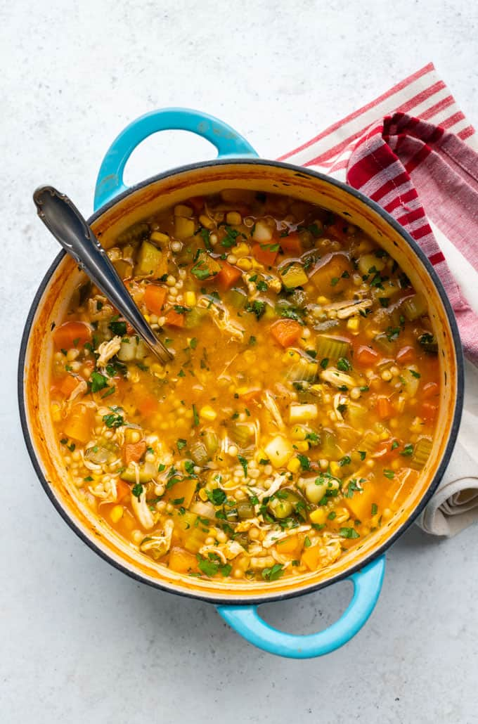 SW recipe: Hearty chicken vegetable soup