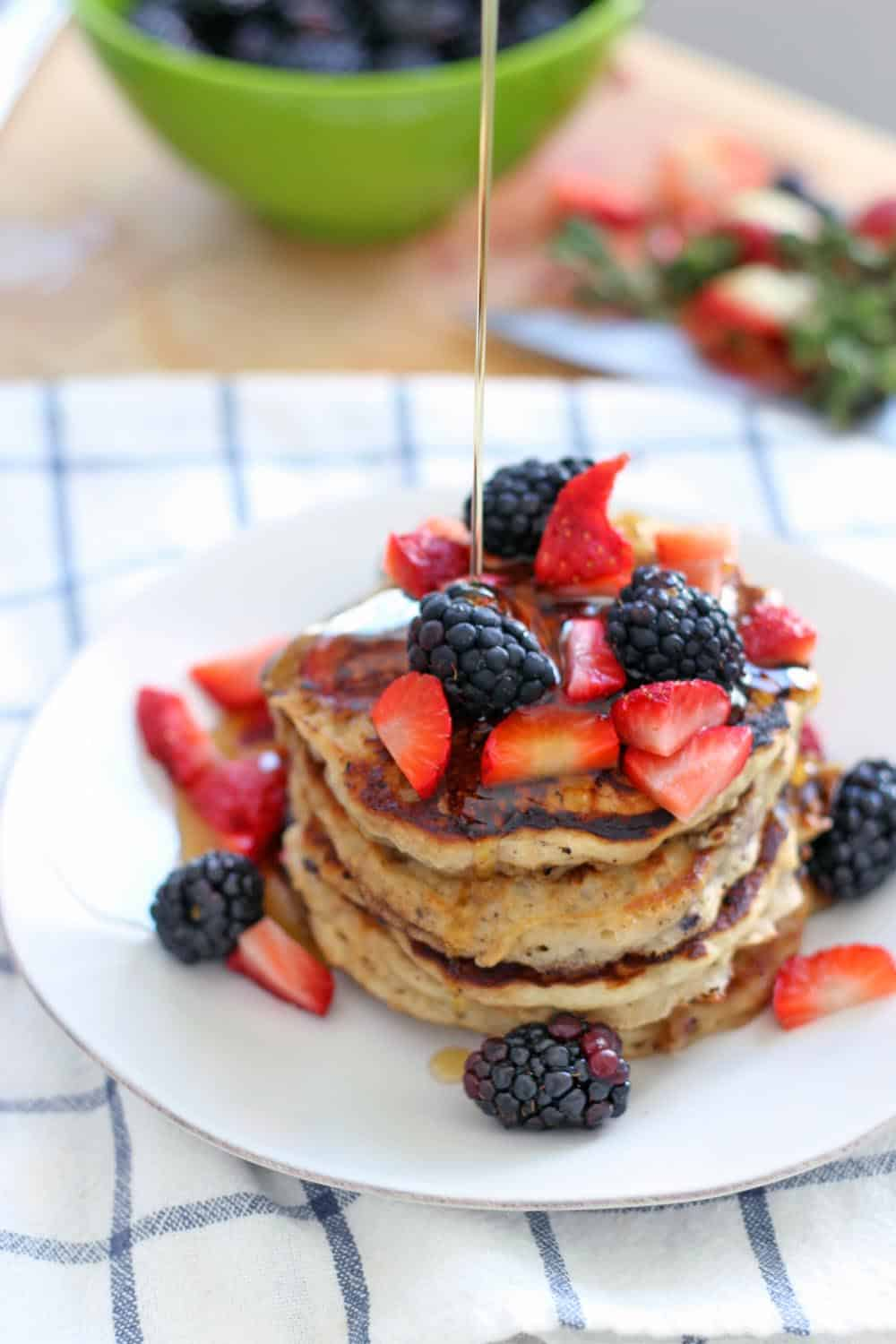 SW recipe: Fluffy American style pancakes