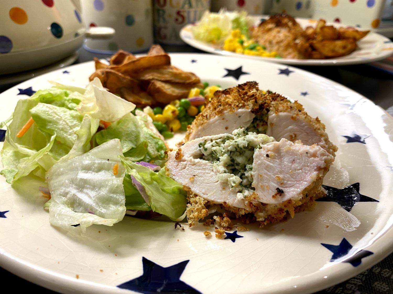 SW recipe: Chicken Kiev