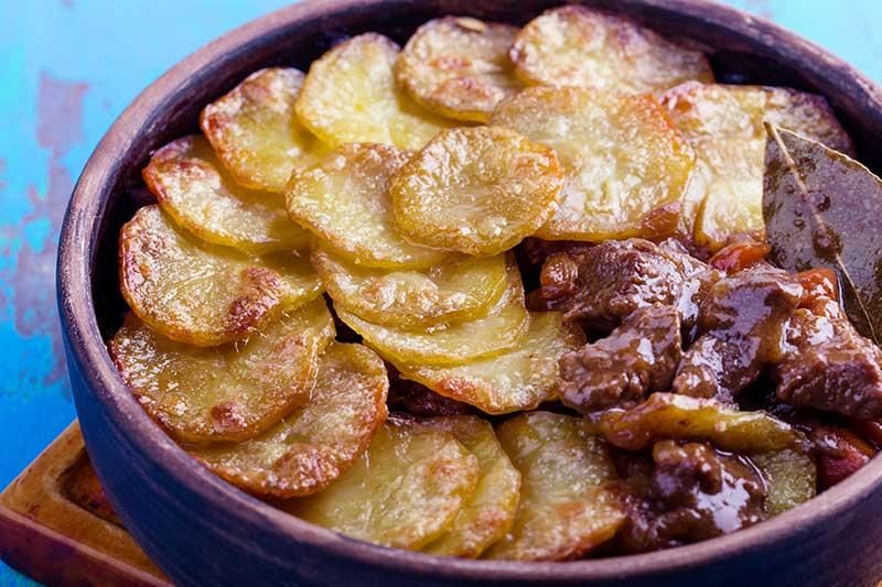 SW recipe: Beef and Bean Hot-Pot Bake
