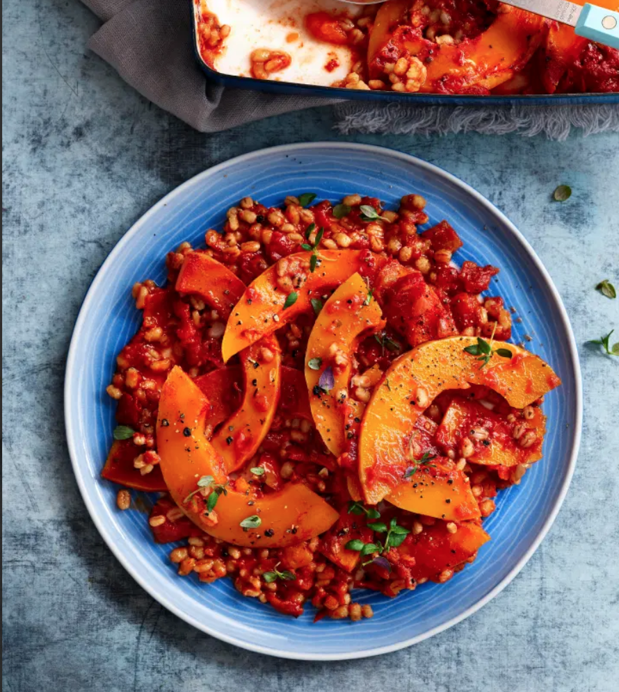 SW recipe: Squash and pearl barley