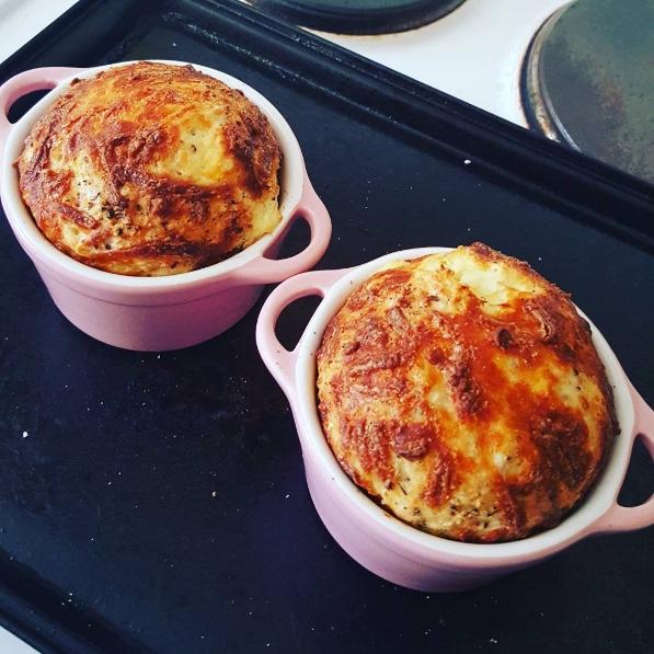 SW recipe: Cheesy Baked Oats