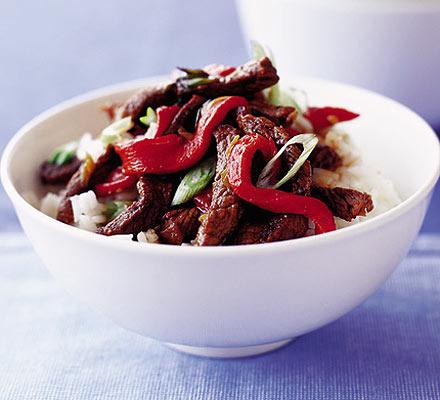 SW recipe: Saucy Beef Stir Fry