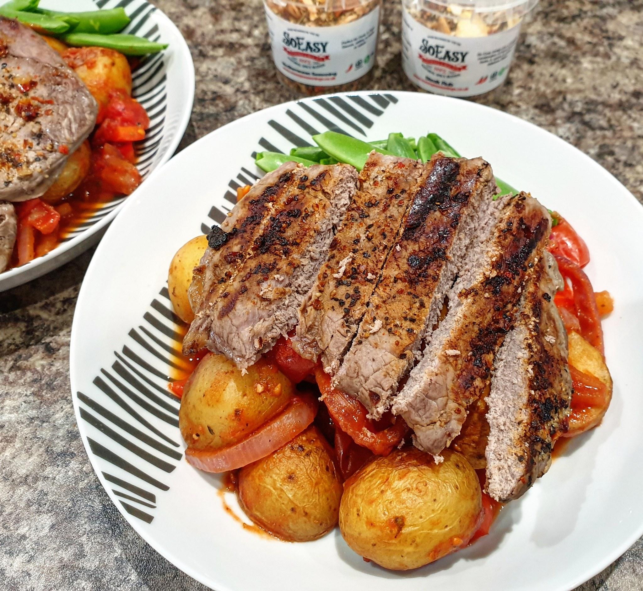 SW recipe: Mediterranean Potato Salad