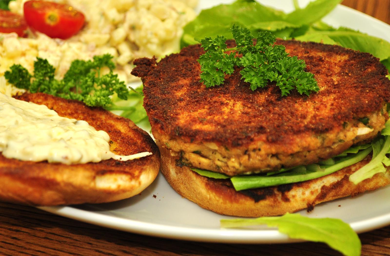 SW recipe: Tuna Burgers