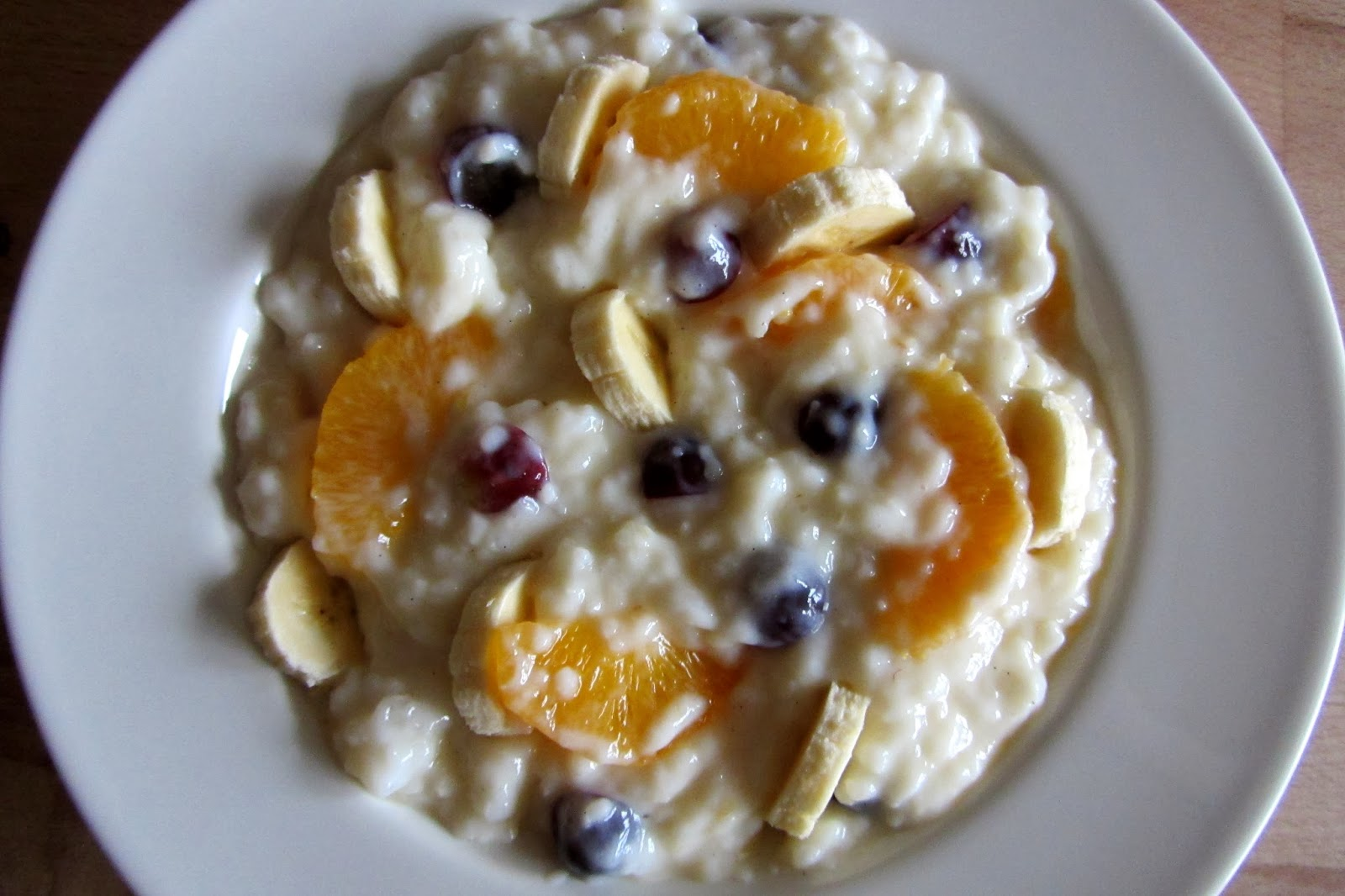 SW recipe: Fruity Rice Pudding