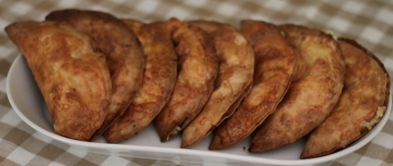 SW recipe: Cheese & Onion Pasties In The Air Fryer