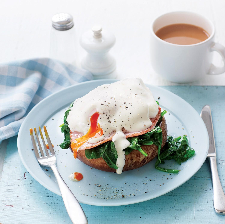 SW recipe: Mushroom & egg benedict