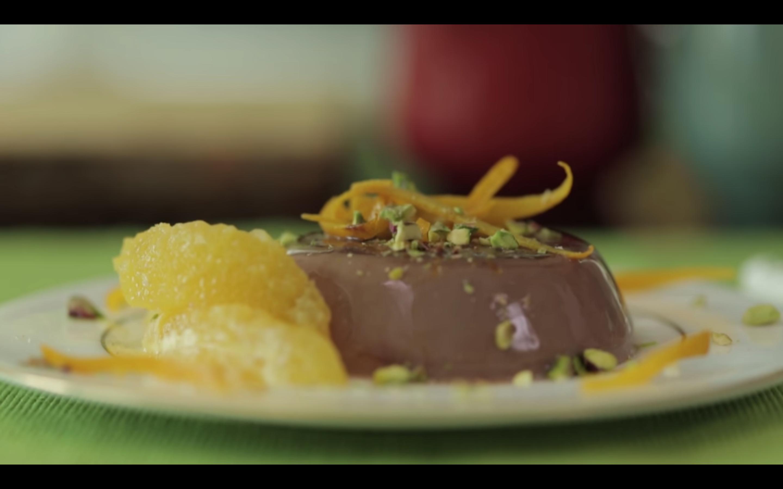 SW recipe: Chocolate-orange Panna cotta