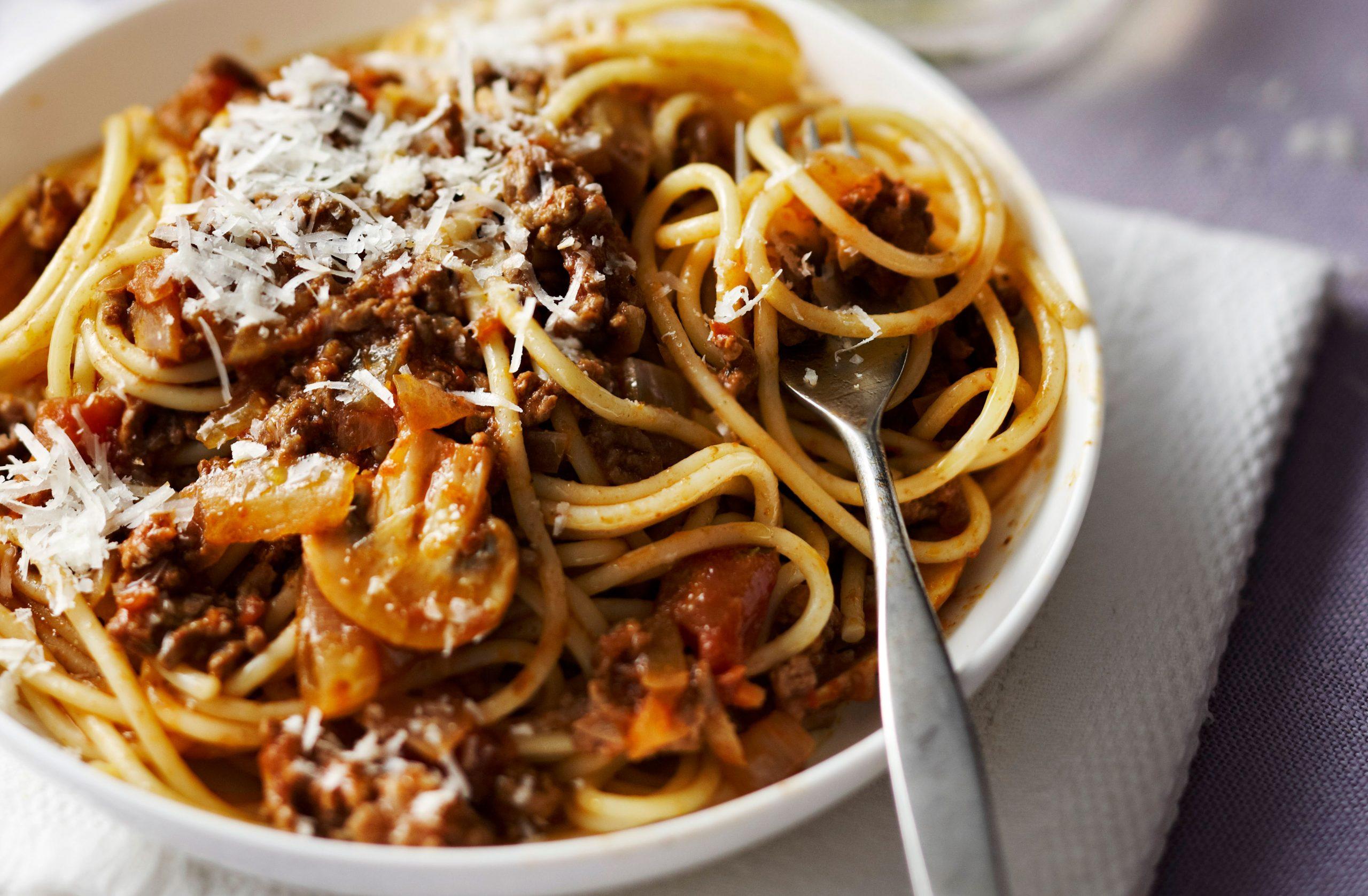 SW recipe: Spaghetti Bolognese