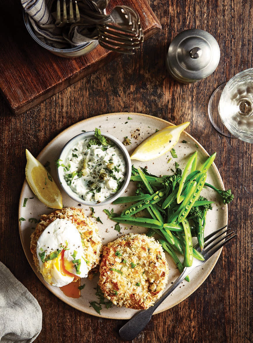 SW recipe: Cod & prawn cakes with tartare sauce